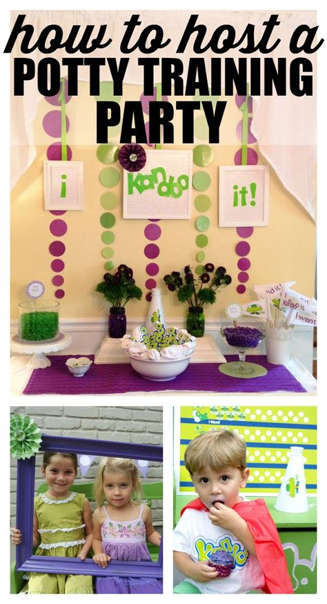 how to re potty my how to host a potty my and