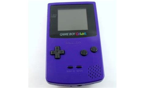 gameboy color purple gaming gaming