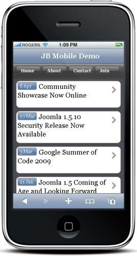 joomla template mobile mobile joomla template joomla mobile theme joomlabucket