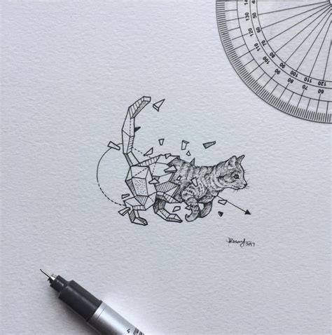 geometric tattoo michigan 66 best geometric beast images on pinterest geometric