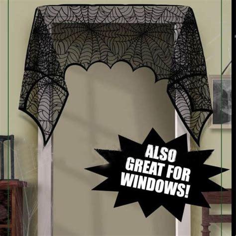 spider web curtains halloween cortina curtain spider web door curtain bathroom