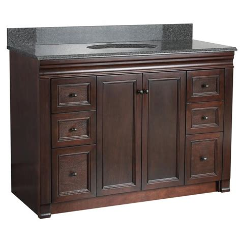 48 quot vanity no top planet granite