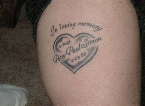 tattoos in memory of someone in loving memory memorial r i p tattoos tatring