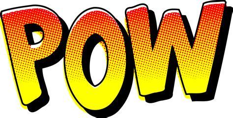 comic book picture effect clipart pow vintage comic book sound effect