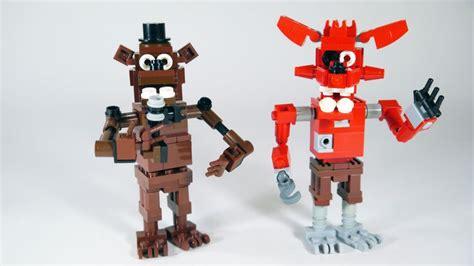 lego foxy tutorial lego foxy five nights at freddy s freddy s lego and