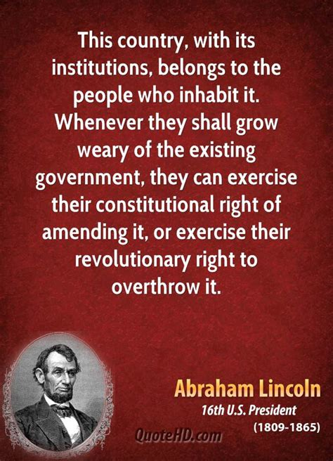 lincoln government abraham lincoln quotes about government quotesgram