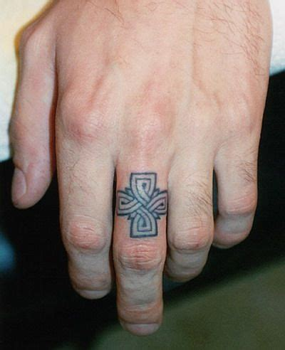 marriage tattoos for men ring tattoos for men design