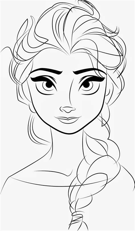 Printable Frozen Drawings | free printable elsa coloring pages for kids best