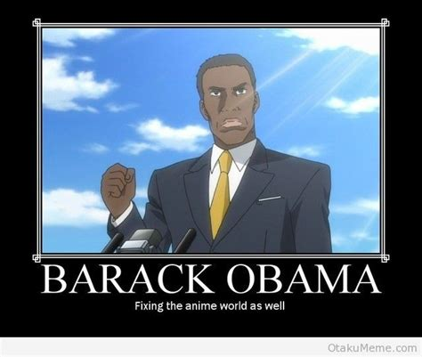 Barack Obama Meme - anime memes anime and japanese culture