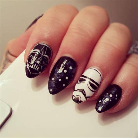 art design unique 29 black acrylic nail art designs ideas design trends