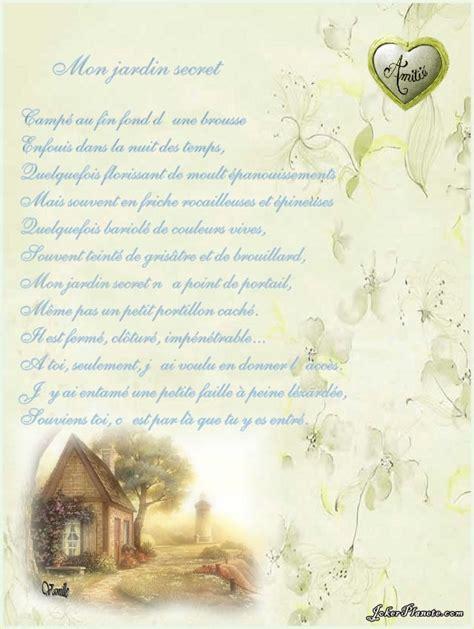 mon jardin secret le parfum de l amiti 233 po 233 sie illustr 233 e