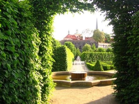 Palace Gardens by A White Peacock In The Gardens Picture Of Wallenstein
