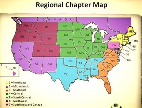 united states map divided into 5 regions my florida notebook simplebooklet