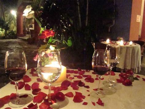 imagenes romanticas velas cena romantica con velas picture of hotel casa