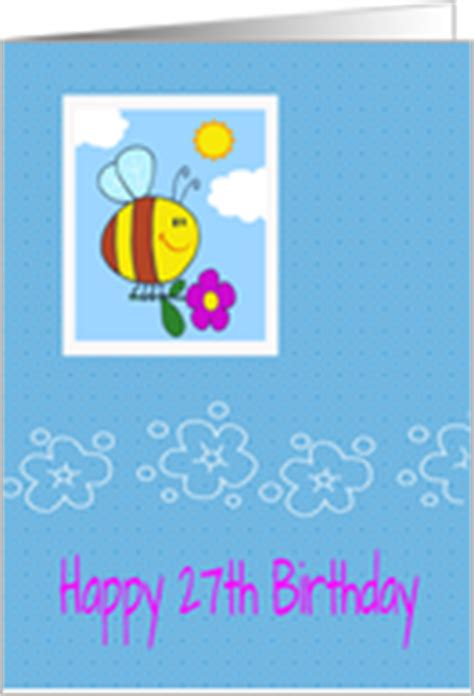 Happy 27th Birthday Wishes 27th Birthday Cards From Greeting Card Universe
