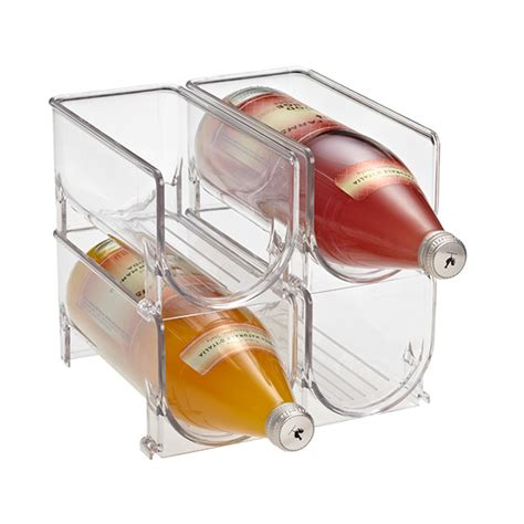 Wine Rack For Refrigerator by Fridge Binz Wine Holder The Container Store