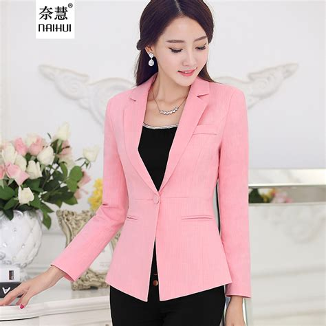 Blazer Fashion Korea aliexpress buy autumn fashion blazer suit korean style casual slim coat 2016