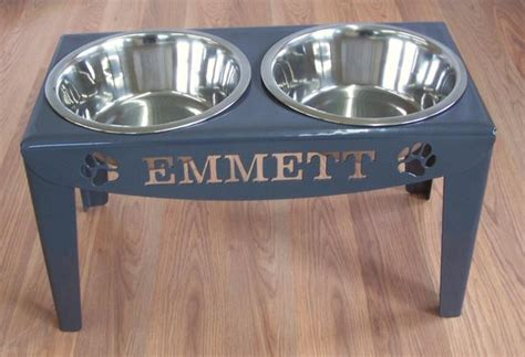 elevated feeders for large breeds custom personalized elevated feeder stand large raised bowls modern iron works