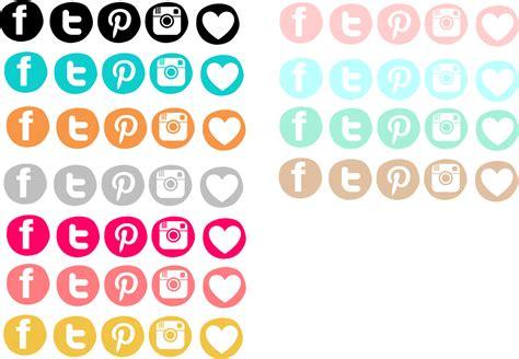 imagenes de redes sociales blanco y negro creative mindly botones redes sociales para descargar