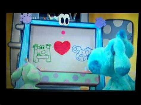 blues room blues clues blue s clues blue talks vhs and dvd trailer blue s room