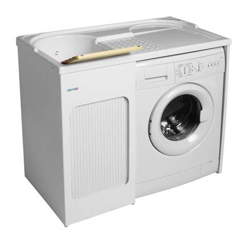 mobile con mobile con lavabo e porta lavatrice 106x60x89 lavacril