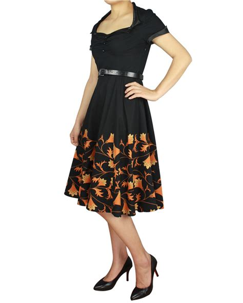 swing dance costumes rk96 floral printed 50s rockabilly swing dress flared