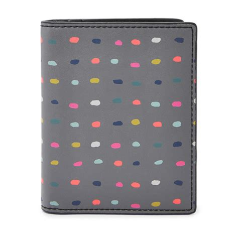 Fossil Plaid Passport Wallet New With Tag keely passport and luggage tag gift set fossil