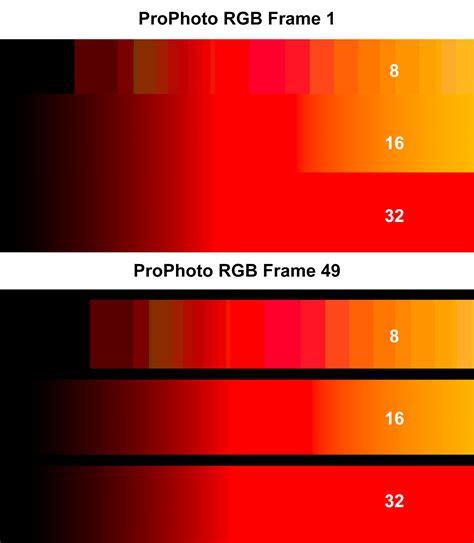 16 bit color should you raise bit depth and color space before color