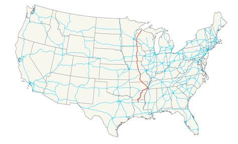 road map us u s route 63