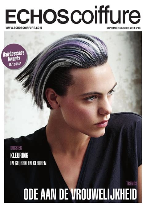 Haarstijl Femmy by Echos Coiffure Be Nl N 176 86 By Eurobest Products Issuu