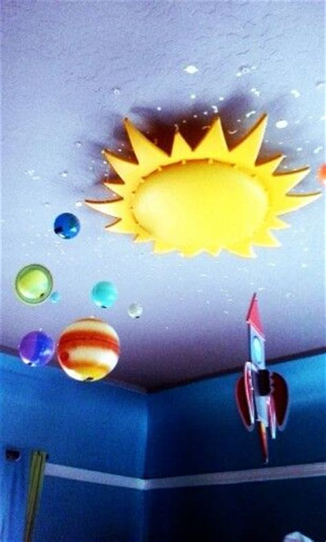 Ceiling Planets Ikea Sun Light Rocket Ship And Planets Smila Sol Ceiling