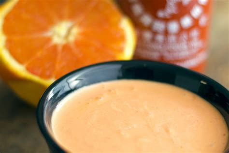 orange mayonnaise homemade sauces and condiments cookingdivine com