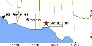 garfield, new mexico (nm) ~ population data, races