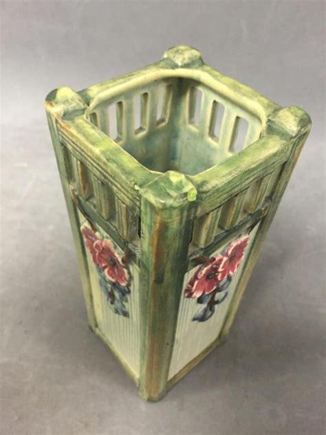 Arts Crafts Vase by Arts Crafts Weller Klyro Pottery Vase