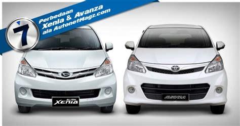 Lu Mobil Depan Avanza 7 perbedaan xenia dan avanza