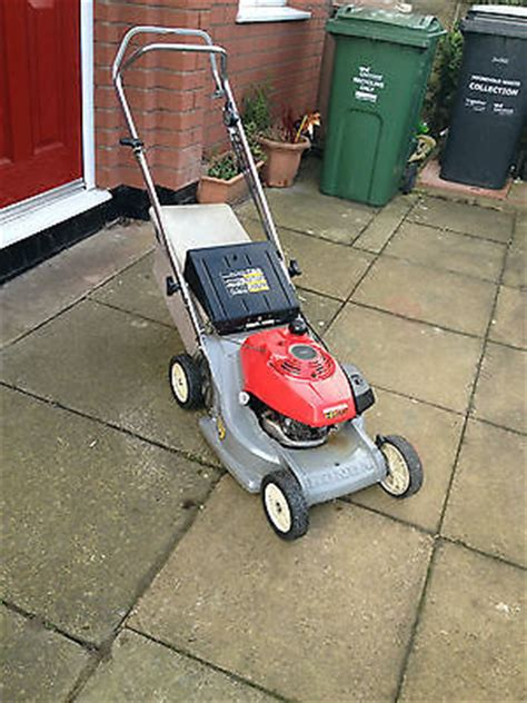 honda hr 173 self propelled rotary petrol mower excellent