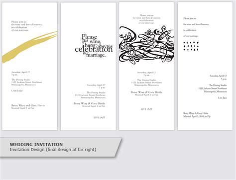 design invitations program invitation event program design graphic design