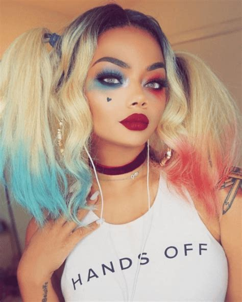 harley quinn hairstyle black harley quinn hairstyles our favourites from instagram