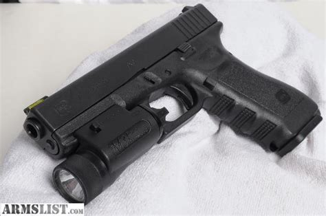 glock 17 tactical light armslist for sale fs glock 17 9mm w streamlight