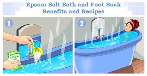 Epsom Salt Bath Without Bathtub by Experts Advise Use Epsom Salts And Feel Better Look