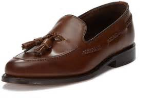 loake tassel loafers brown leather tassel loafers loake temple tassel