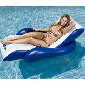 intex floating recliner lounger