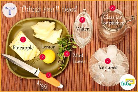 Make Your Own Detox Shoo by How To Make Your Own Detox Water Fab How