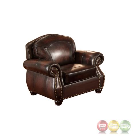 top grain leather sofa set hyde 3pc sofa set with antiqued hand rubbed top grain