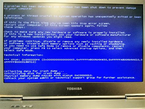 windows 7 x64 always go to blue screen in idle stop 0x000000f4 physical memory dump with status
