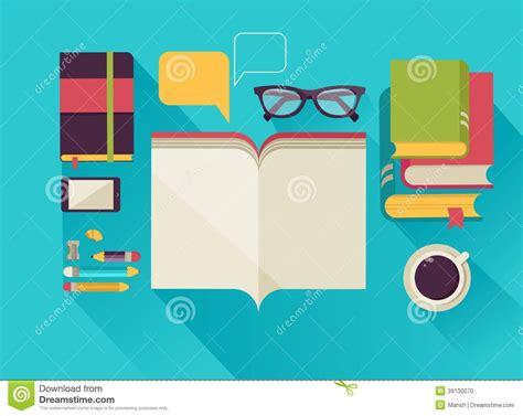 libro modern architecture a z libros de lectura mesa sistema de iconos planos