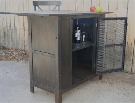 Metal Kitchen Islands Handmade Steel Metal Kitchen Island Wine Liquor Cart