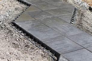 terrassen platten snapedge terrassenplatten gegen seitliches abwandern