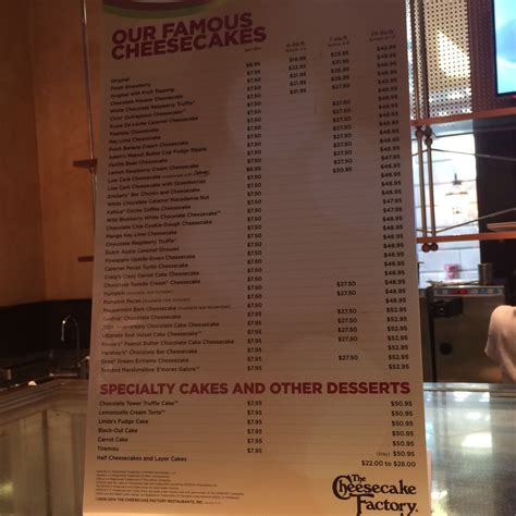cheesecake factory light menu the cheesecake factory buffalo new york ava ate here