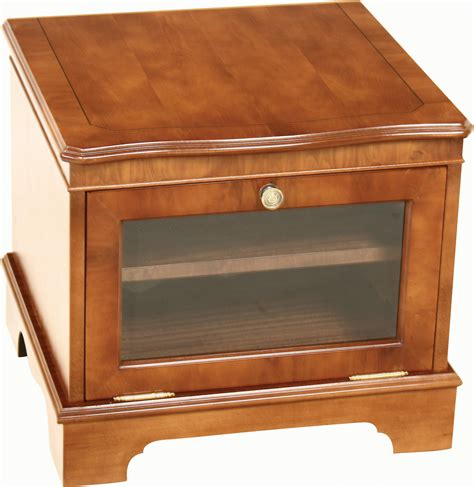 square shaped glossed brown wooden small tv stands ideas
